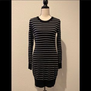 French Connection Bow Back Sweater Dress